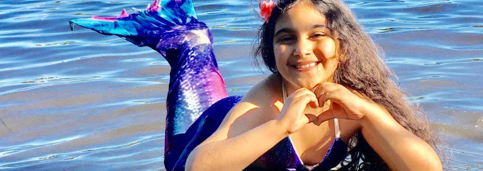 Nyhet: Havfrue/havmann-kurs for barn
